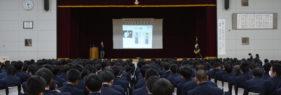 函館大学附属有斗高校で「特別授業」